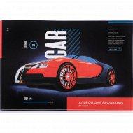 Альбом для рисования А4, на скрепке «ArtSpace» Turbo car, 24 листа