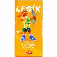 Шоколад «Спартак» горький 56%, 90 г.