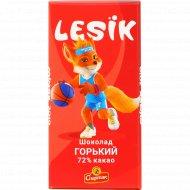 Шоколад «Lesik» горький, 90 г.