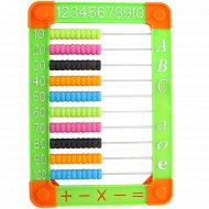 Счеты детские BR-5151 на подставке, 25x17 см.