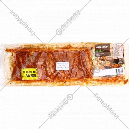 Полуфабрикат мясной «Ребрышки свинные» охлажденные, 1 кг., фасовка 0.8-1 кг