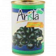 Маслины «Arista» без косточки, 300 мл.