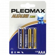 Элемент питания «Samsung» Pleomax LR03, AAA, 4 шт.