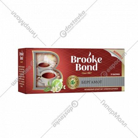 Чай черный «Brooke Bond» с ароматом бергамота, 25 пакетиков.