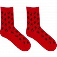 Носки мужские «Mark Formelle» темно-красные, размер 25.