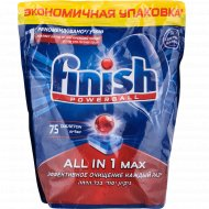 Таблетки для посудомоечных машин «Finish» All in 1 Max, 75 шт