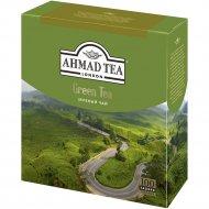 Чай зеленый «Ahmad Tea» 100 пакетиков.