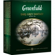 Чай черный «Greenfield» Earl Grey Fantasy, 100 пакетиков х 2 г.