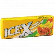 Жевательная резинка «Ice-X» арбузно-дынный коктейль 14 г.
