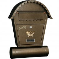 Ящик почтовый «GreenTerra» SO2T, золото