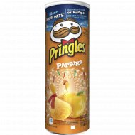 Чипсы «Pringles» со вкусом паприки 165 г.
