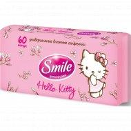 Салфетки влажные «Smile» Hello Kitty для всей семьи, 60 шт.