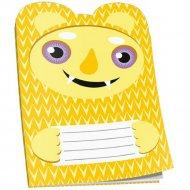 Блокнот «Желтый монстрик» 16 страниц, 03003.
