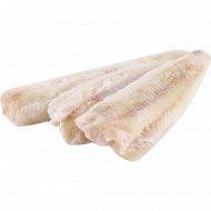Филе минтая «РыбаХит» без кожи в ледяной глазури, 1 кг., фасовка 0.9-1.2 кг