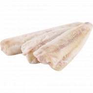 Филе минтая «РыбаХит» без кожи, в ледяной глазури, 1 кг., фасовка 0.9-1.5 кг