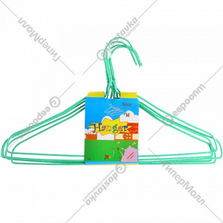 Набор вешалок «Hanger» 20022708, 5шт, зеленый