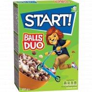 Завтраки сухие «Start» шарики DUO, 250 г.