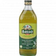 Масло оливковое «Basso» рафинированное 1 л.