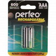 Аккумулятор «Perfeo» АAA600mAh/2BL/60, 1.2В.
