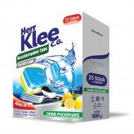 Таблетки для посудомоечных машин «Herr Klee» C.G.Silver Line, 25+5шт.