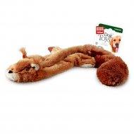 Игрушка для собак «Белка» с 2 пищалками, 61 см.