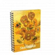 Скетчбук «Ван Гог. Подсолнухи» 00154.