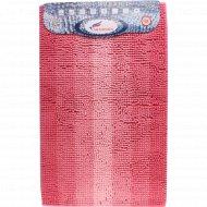 Коврик для ванной комнаты «Multimakaron» 50x80 см, розовый.