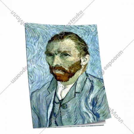 Блокнот «Ван Гог. Автопортрет» 40 страниц, 03232.