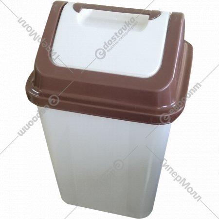 Ведро мусорное с крышкой.