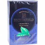 Чай чёрный «Beckerfield» крупнолистовой, 100 г.