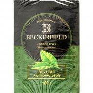Чай зелёный «Beckerfield» крупнолистовой, 100 г.