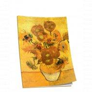 Блокнот «Ван Гог. Подсолнухи» 40 страниц, 03249.