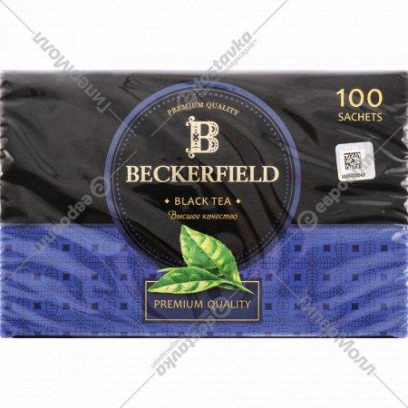 Чай черный «Beckerfield» 100 пакетиков.