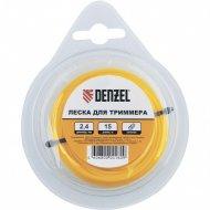 Леска «Denzel» для триммера круглая, 3 ммх10м.