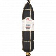 Колбаса варено-копченая «Финский сервелат» высшего сорта, 1 кг., фасовка 0.7-1.3 кг