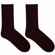 Носки мужские «Mark Formelle» бордовые, размер 25.