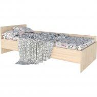 Кровать «Интерлиния» Анеси-4, дуб молочный