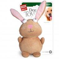 Игрушка для собак «Кролик» с пищалкой, 16 см.