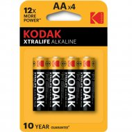 Элемент питания «Kodak» LR6-4BL XTRALIFE.