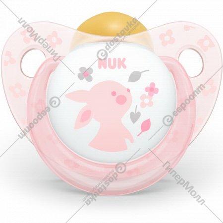 Пустышка латексная «Nuk Baby Rose» размер 2.