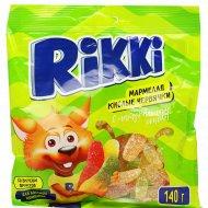 Мармелад жевательный «Rikki» кислые червячки 140 г.
