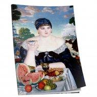 Блокнот «Кустодиев. Купчиха за чаем» 40 страниц, 03263.