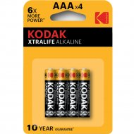 Элемент питания «Kodak» LR03-4BL XTRALIFE.
