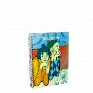 Скетчбук «Пикассо. Арлекин и его подружка» 01665.