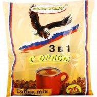 Напиток кофейный, с орлом 3 в 1, карамель, 450 г.