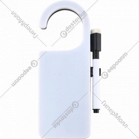 Крючок дверной для записи с LED подсветкой, AV1676.