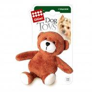 Игрушка для собак «Медведь» с пищалкой, 10 см.