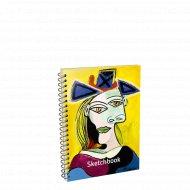 Скетчбук «Пикассо. Голова женщины в голубой шляпе» 01672.