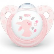 Пустышка силиконовая «Nuk Baby Rose» размер 2.