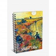 Скетчбук «Ван Гог. Красные виноградники в Арле» 100 страниц, 03300.